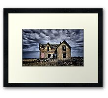 Another Dead End Framed Print