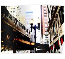 L-Train, Chicago, IL 1.2 Poster