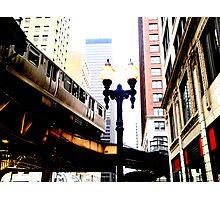 L-Train, Chicago, IL 1.2 Photographic Print