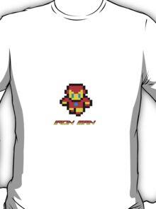 PIXEL ART IRON MAN  T-Shirt