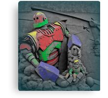 Coloured giant Canvas Print