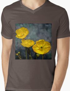 Iceland poppy Mens V-Neck T-Shirt