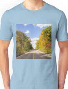 Autumn Road to Nowhere 2 Unisex T-Shirt