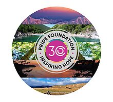 30 Years of Pride Foundation (Round) by pridefoundation