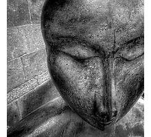Zen statue Photographic Print