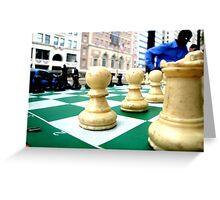 Chess, Michigan Avenue, Chicago, IL 1.0 Greeting Card