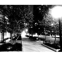 Chicago & Fairbanks, Chicago, IL Photographic Print