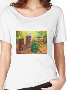 Tiki Bar Women's Relaxed Fit T-Shirt