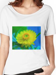 Fuzzy Yellow Women's Relaxed Fit T-Shirt
