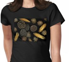Seeds and Pods Womens Fitted T-Shirt