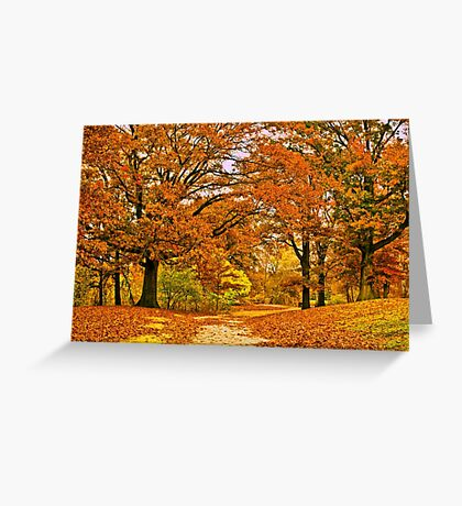 Walk with me Greeting Card
