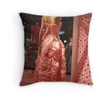 Cottonelle Dress Throw Pillow