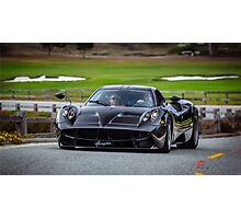Pagani Huayra on 17-Mile Drive Photographic Print