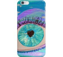Love in the eye of the beholder iPhone Case/Skin