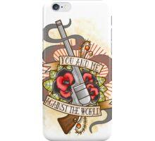 Against the World Valentine iPhone Case/Skin
