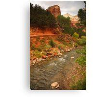 Virgin River, Zion National Park Canvas Print