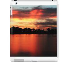 Sunrise at Webb lake iPad Case/Skin