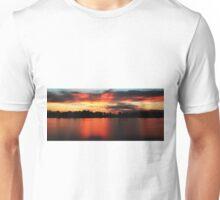 Sunrise at Webb lake Unisex T-Shirt