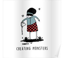 Creating Monsters Poster