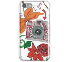 Photographer style iPhone Case/Skin