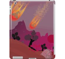 The First Drones Strike The Land of Pink iPad Case/Skin