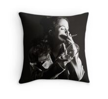 Smokin Throw Pillow