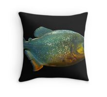 Piranha! Throw Pillow