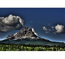 Storm Clouds Over Crowsnest Photographic Print