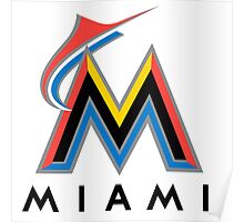 miami merlins Poster