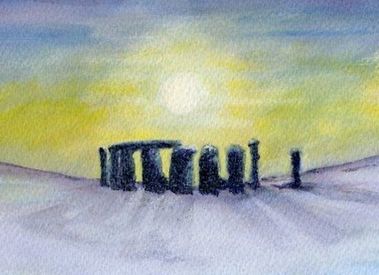 Winter henge by J J  Everson