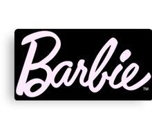 Barbie tumblr inspired print Canvas Print