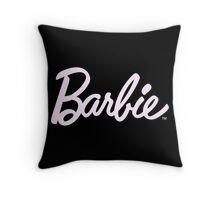 Barbie tumblr inspired print Throw Pillow
