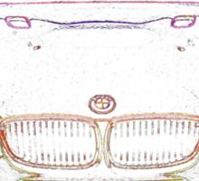 BMW M3 Front Sticker