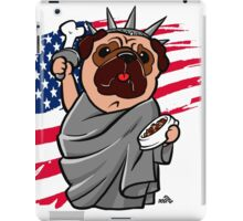 4th of July Independence Pug iPad Case/Skin