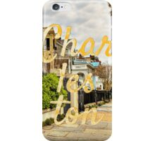 Charleston Rainbow Row iPhone Case/Skin