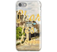 Charleston Rainbow Row iPhone Case/Skin