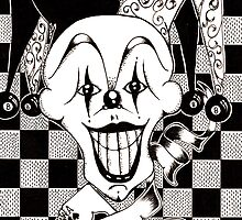 Jester The Joker Clown by Octavio Velazquez