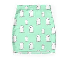 Cute Ghosts Mini Skirt