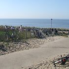 Bikes at the beach by kactus