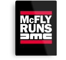 McFly Runs DMC Metal Print