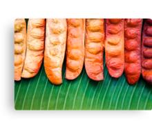 Tropical Beans Canvas Print