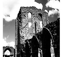 Norman Ruin - Staffordshire, England Photographic Print
