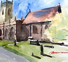 St Peter's Church in Edgmond, Shropshire by bakuma