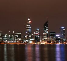 Perth at night by domc