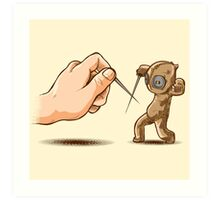 Fencing Voodoo Art Print