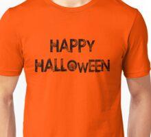 Happy Halloween (Larger) Unisex T-Shirt
