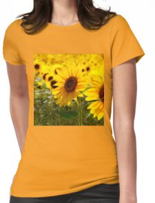 Sunny delight  Womens Fitted T-Shirt