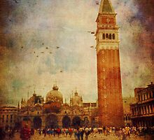Piazza San Marco - Venice by Silvia Ganora