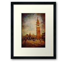 Piazza San Marco - Venice Framed Print
