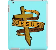 JESUS - THE WAY THE TRUTH THE LIFE iPad Case/Skin